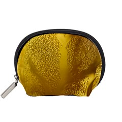 Beer Beverage Glass Yellow Cup Accessory Pouches (Small)