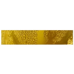 Beer Beverage Glass Yellow Cup Flano Scarf (small)