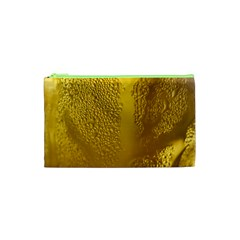 Beer Beverage Glass Yellow Cup Cosmetic Bag (XS)