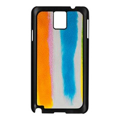 Watercolors stripes       Samsung Galaxy Note 3 N9005 Case (White)