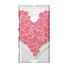 Heart Stripes Symbol Striped Nokia Lumia 1520