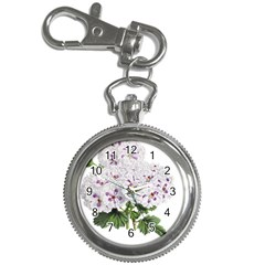 Flower Plant Blossom Bloom Vintage Key Chain Watches