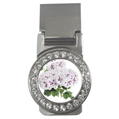 Flower Plant Blossom Bloom Vintage Money Clips (cz)