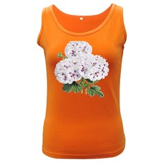 Flower Plant Blossom Bloom Vintage Women s Dark Tank Top