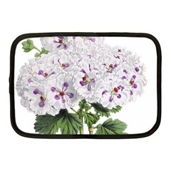 Flower Plant Blossom Bloom Vintage Netbook Case (medium)