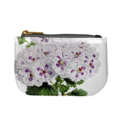 Flower Plant Blossom Bloom Vintage Mini Coin Purses