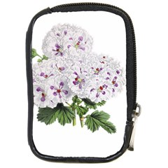 Flower Plant Blossom Bloom Vintage Compact Camera Cases