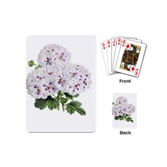 Flower Plant Blossom Bloom Vintage Playing Cards (mini)