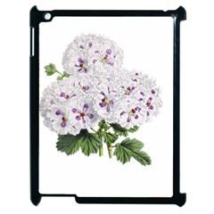 Flower Plant Blossom Bloom Vintage Apple iPad 2 Case (Black)