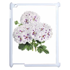 Flower Plant Blossom Bloom Vintage Apple Ipad 2 Case (white)