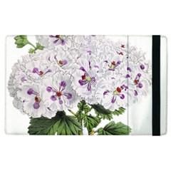 Flower Plant Blossom Bloom Vintage Apple iPad 3/4 Flip Case