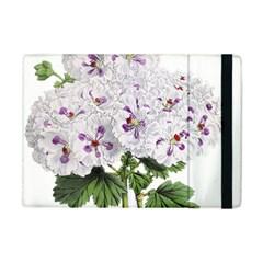 Flower Plant Blossom Bloom Vintage Apple iPad Mini Flip Case