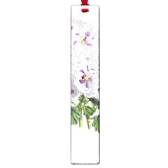 Flower Plant Blossom Bloom Vintage Large Book Marks