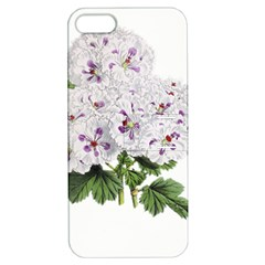 Flower Plant Blossom Bloom Vintage Apple Iphone 5 Hardshell Case With Stand