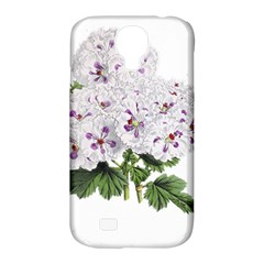 Flower Plant Blossom Bloom Vintage Samsung Galaxy S4 Classic Hardshell Case (pc+silicone)