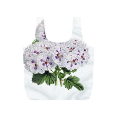 Flower Plant Blossom Bloom Vintage Full Print Recycle Bags (s)