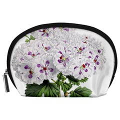 Flower Plant Blossom Bloom Vintage Accessory Pouches (large)