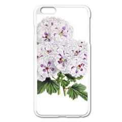 Flower Plant Blossom Bloom Vintage Apple Iphone 6 Plus/6s Plus Enamel White Case