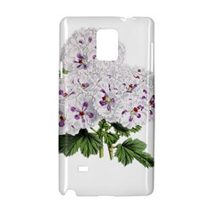 Flower Plant Blossom Bloom Vintage Samsung Galaxy Note 4 Hardshell Case
