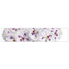Flower Plant Blossom Bloom Vintage Flano Scarf (small)