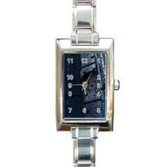 Graphic Design Background Rectangle Italian Charm Watch
