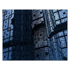 Graphic Design Background Rectangular Jigsaw Puzzl