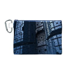 Graphic Design Background Canvas Cosmetic Bag (M)