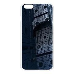 Graphic Design Background Apple Seamless iPhone 6 Plus/6S Plus Case (Transparent)