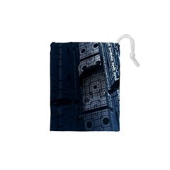 Graphic Design Background Drawstring Pouches (xs)