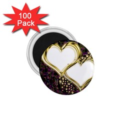 Lover Romantic Couple Apart 1 75  Magnets (100 Pack)