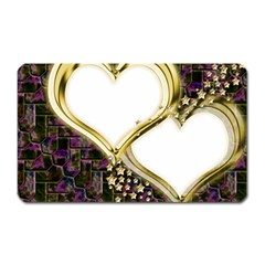 Lover Romantic Couple Apart Magnet (Rectangular)
