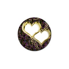 Lover Romantic Couple Apart Golf Ball Marker (10 Pack)