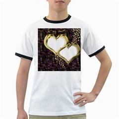 Lover Romantic Couple Apart Ringer T Shirts
