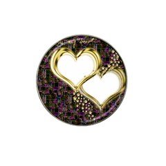 Lover Romantic Couple Apart Hat Clip Ball Marker (10 pack)