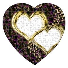 Lover Romantic Couple Apart Jigsaw Puzzle (heart)