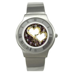 Lover Romantic Couple Apart Stainless Steel Watch