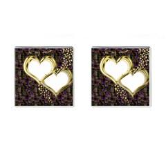 Lover Romantic Couple Apart Cufflinks (square)
