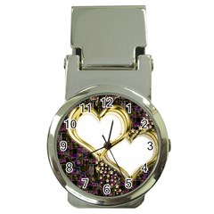 Lover Romantic Couple Apart Money Clip Watches