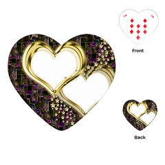 Lover Romantic Couple Apart Playing Cards (Heart)