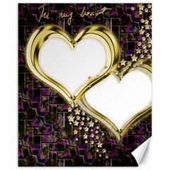 Lover Romantic Couple Apart Canvas 16  x 20