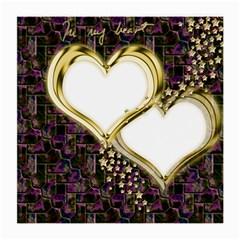 Lover Romantic Couple Apart Medium Glasses Cloth