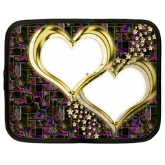 Lover Romantic Couple Apart Netbook Case (Large)