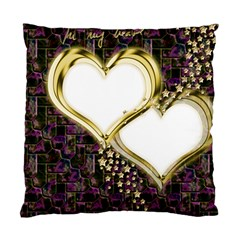 Lover Romantic Couple Apart Standard Cushion Case (one Side)