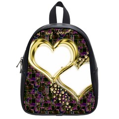 Lover Romantic Couple Apart School Bags (Small)