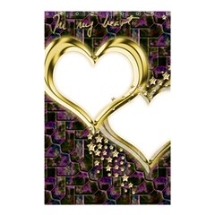 Lover Romantic Couple Apart Shower Curtain 48  x 72  (Small)
