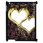 Lover Romantic Couple Apart Apple iPad 2 Case (Black) Front