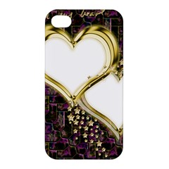 Lover Romantic Couple Apart Apple iPhone 4/4S Hardshell Case