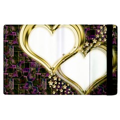 Lover Romantic Couple Apart Apple Ipad 3/4 Flip Case