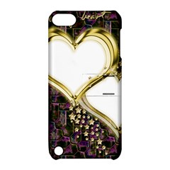 Lover Romantic Couple Apart Apple Ipod Touch 5 Hardshell Case With Stand