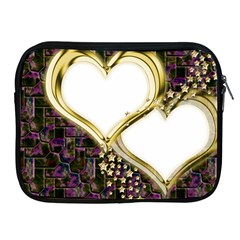 Lover Romantic Couple Apart Apple Ipad 2/3/4 Zipper Cases